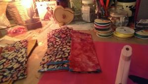 Using the Good ole Glue Gun to Attach Ribbon